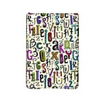 Colorful Retro Style Letters Numbers Stars iPad Mini 2 Hardshell Cases