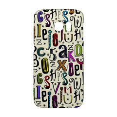 Colorful Retro Style Letters Numbers Stars Galaxy S6 Edge by EDDArt