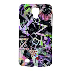 Chaos With Letters Black Multicolored Galaxy S4 Active by EDDArt