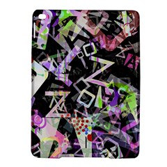 Chaos With Letters Black Multicolored Ipad Air 2 Hardshell Cases by EDDArt