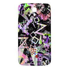 Chaos With Letters Black Multicolored Samsung Galaxy Mega I9200 Hardshell Back Case by EDDArt