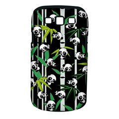Satisfied And Happy Panda Babies On Bamboo Samsung Galaxy S Iii Classic Hardshell Case (pc+silicone) by EDDArt