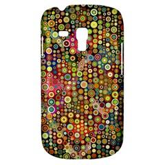 Multicolored Retro Spots Polka Dots Pattern Galaxy S3 Mini by EDDArt