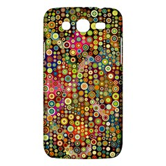 Multicolored Retro Spots Polka Dots Pattern Samsung Galaxy Mega 5 8 I9152 Hardshell Case  by EDDArt