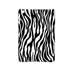 Zebra Stripes Pattern Traditional Colors Black White Ipad Mini 2 Hardshell Cases by EDDArt