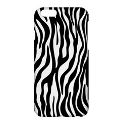 Zebra Stripes Pattern Traditional Colors Black White Apple Iphone 6 Plus/6s Plus Hardshell Case by EDDArt