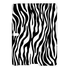 Zebra Stripes Pattern Traditional Colors Black White Samsung Galaxy Tab S (10 5 ) Hardshell Case  by EDDArt