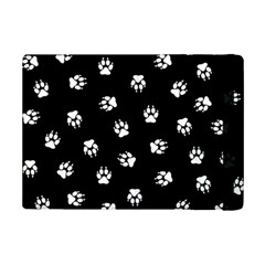 Footprints Dog White Black Ipad Mini 2 Flip Cases by EDDArt