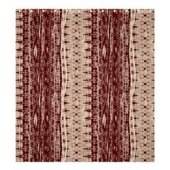 Wrinkly Batik Pattern Brown Beige Shower Curtain 66  X 72  (large)  by EDDArt