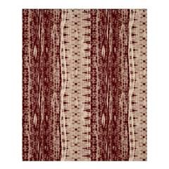 Wrinkly Batik Pattern Brown Beige Shower Curtain 60  X 72  (medium)  by EDDArt