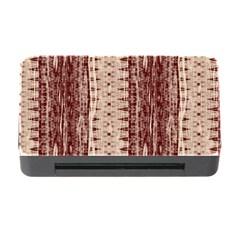 Wrinkly Batik Pattern Brown Beige Memory Card Reader With Cf by EDDArt