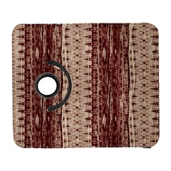 Wrinkly Batik Pattern Brown Beige Galaxy S3 (flip/folio) by EDDArt