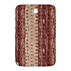 Wrinkly Batik Pattern Brown Beige Samsung Galaxy Note 8 0 N5100 Hardshell Case  by EDDArt