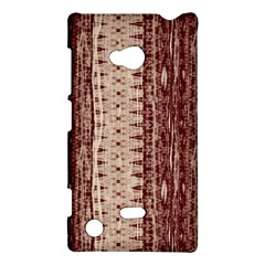 Wrinkly Batik Pattern Brown Beige Nokia Lumia 720 by EDDArt