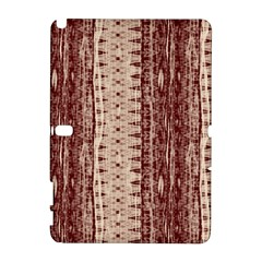 Wrinkly Batik Pattern Brown Beige Galaxy Note 1 by EDDArt