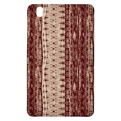 Wrinkly Batik Pattern Brown Beige Samsung Galaxy Tab Pro 8 4 Hardshell Case by EDDArt
