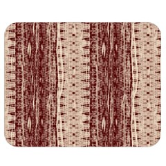 Wrinkly Batik Pattern Brown Beige Double Sided Flano Blanket (medium)  by EDDArt