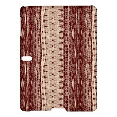 Wrinkly Batik Pattern Brown Beige Samsung Galaxy Tab S (10 5 ) Hardshell Case  by EDDArt