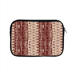 Wrinkly Batik Pattern Brown Beige Apple Macbook Pro 15  Zipper Case by EDDArt