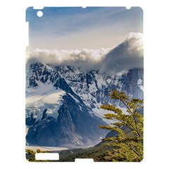 Snowy Andes Mountains, El Chalten Argentina Apple Ipad 3/4 Hardshell Case by dflcprints