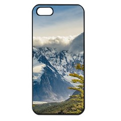Snowy Andes Mountains, El Chalten Argentina Apple Iphone 5 Seamless Case (black) by dflcprints