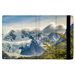 Snowy Andes Mountains, El Chalten Argentina Apple Ipad 3/4 Flip Case by dflcprints