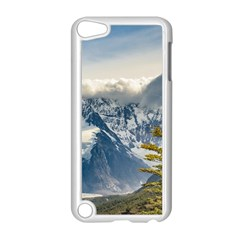 Snowy Andes Mountains, El Chalten Argentina Apple Ipod Touch 5 Case (white) by dflcprints