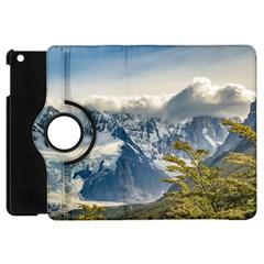 Snowy Andes Mountains, El Chalten Argentina Apple Ipad Mini Flip 360 Case by dflcprints