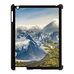 Snowy Andes Mountains, El Chalten Argentina Apple Ipad 3/4 Case (black) by dflcprints