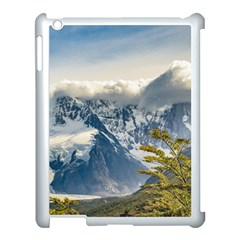Snowy Andes Mountains, El Chalten Argentina Apple Ipad 3/4 Case (white) by dflcprints