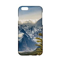 Snowy Andes Mountains, El Chalten Argentina Apple Iphone 6/6s Hardshell Case by dflcprints