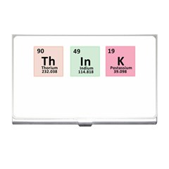 Think   Chemistry Business Card Holders by Valentinaart