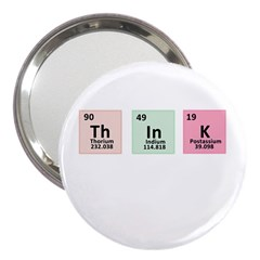 Think   Chemistry 3  Handbag Mirrors by Valentinaart