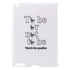 To Be Or Not To Be Apple Ipad 3/4 Hardshell Case (compatible With Smart Cover) by Valentinaart