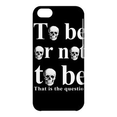 To Be Or Not To Be Apple Iphone 5c Hardshell Case by Valentinaart