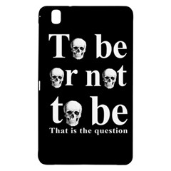 To Be Or Not To Be Samsung Galaxy Tab Pro 8 4 Hardshell Case by Valentinaart