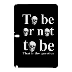 To Be Or Not To Be Samsung Galaxy Tab Pro 12 2 Hardshell Case by Valentinaart