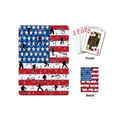 Elvis Presley Playing Cards (mini)  by Valentinaart