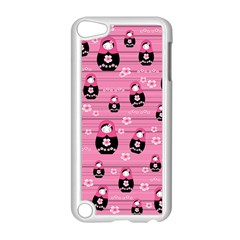 Matryoshka Doll Pattern Apple Ipod Touch 5 Case (white) by Valentinaart