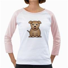 Happydog2 Girly Raglans
