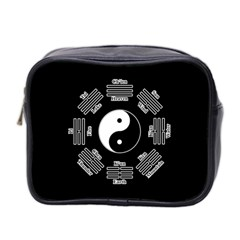 I Ching  Mini Toiletries Bag 2 Side by Valentinaart