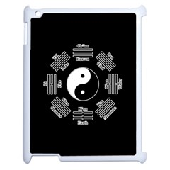 I Ching  Apple Ipad 2 Case (white) by Valentinaart