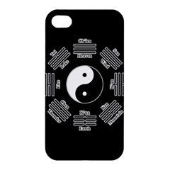 I Ching  Apple Iphone 4/4s Premium Hardshell Case by Valentinaart