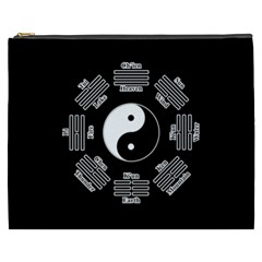 I Ching  Cosmetic Bag (xxxl)  by Valentinaart