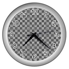 I Ching  Wall Clocks (silver)  by Valentinaart