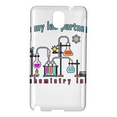 Chemistry Lab Samsung Galaxy Note 3 N9005 Hardshell Case by Valentinaart
