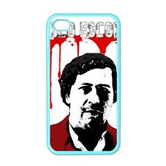 Pablo Escobar  Apple Iphone 4 Case (color) by Valentinaart