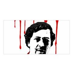 Pablo Escobar  Satin Shawl by Valentinaart