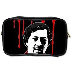 Pablo Escobar  Toiletries Bags 2 Side by Valentinaart