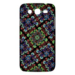 Colorful Floral Collage Pattern Samsung Galaxy Mega 5 8 I9152 Hardshell Case  by dflcprints